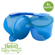 Load image into Gallery viewer, Heinz Baby Basics Snack Bowls & Weaning Spoon