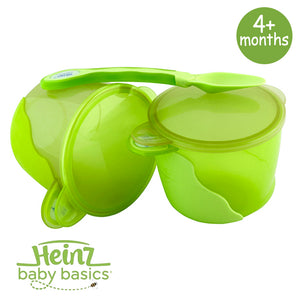 Heinz Baby Basics Snack Bowls & Weaning Spoon