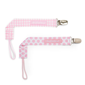 PaciGrip Double Pack - Gingham & Dot