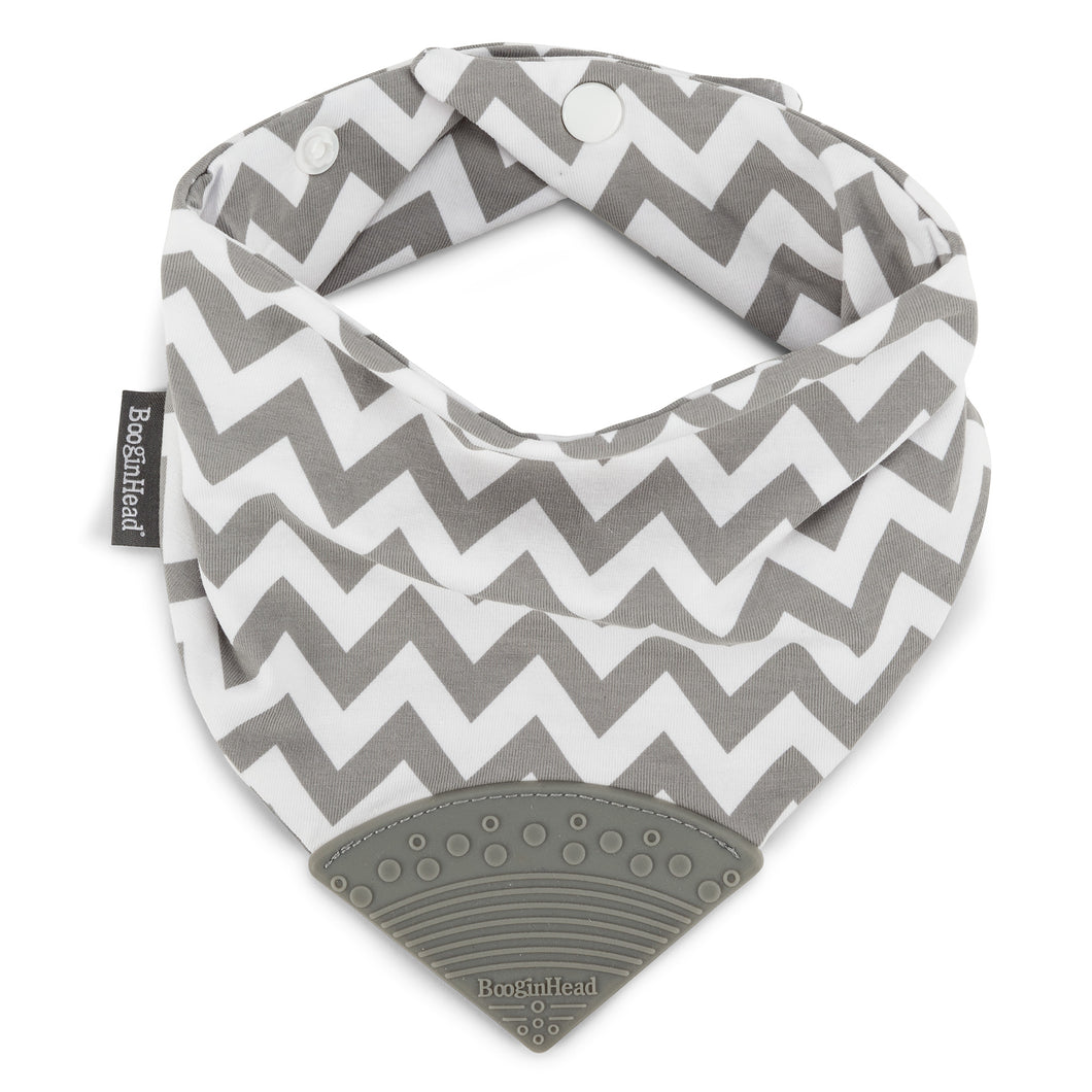 Bandana Teether Bib - Chevron
