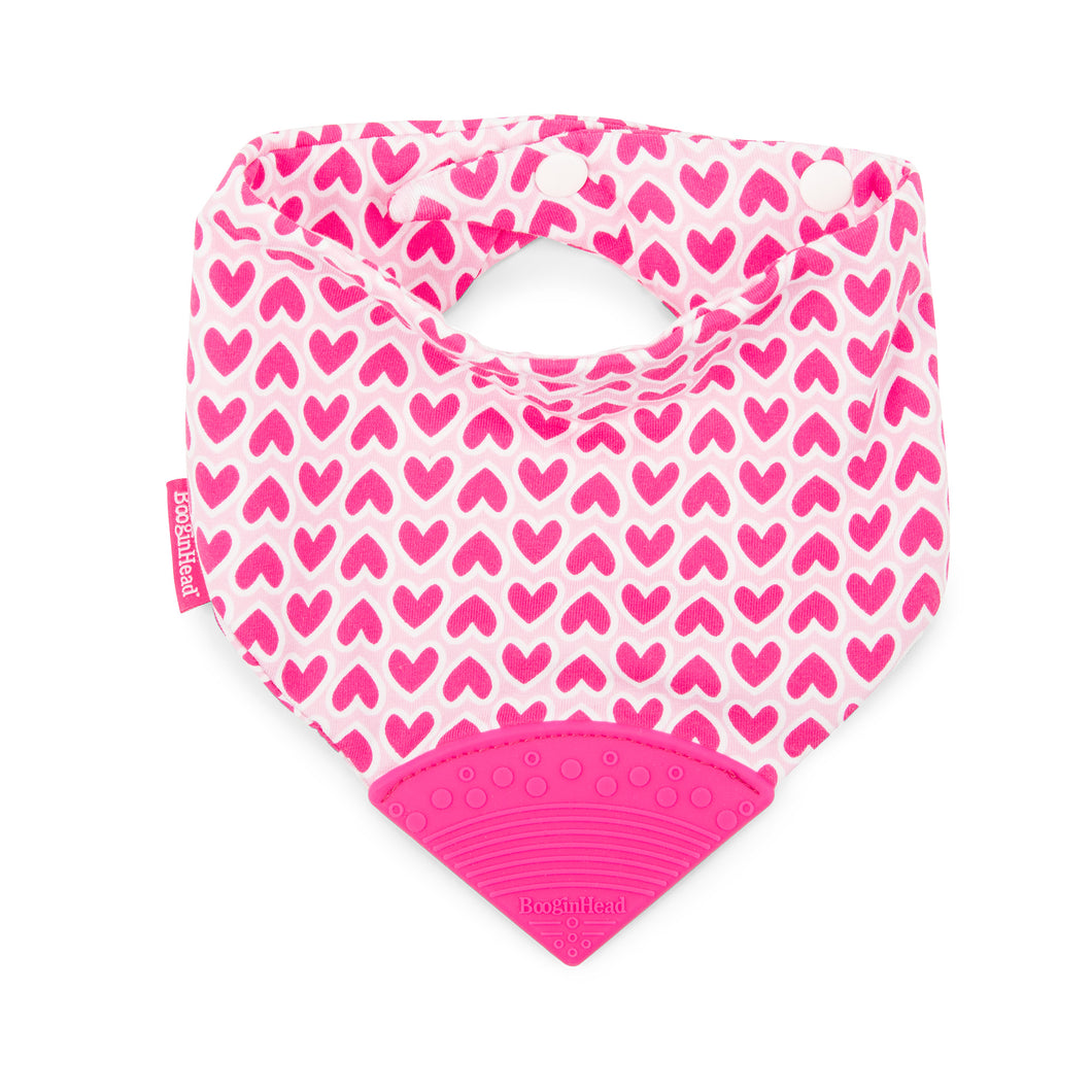Bandana Teether Bib - Love