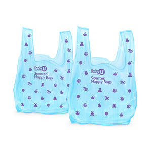 Baby U Scented Nappy Bags 50pk