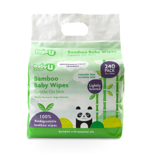 Baby U Bamboo Wipes