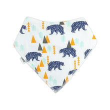 Load image into Gallery viewer, Bandana Bibs 4 Pack - Bears