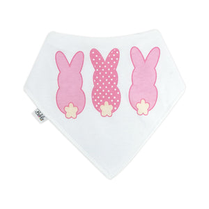 Bandana Bibs  2 Pack - Bunnies