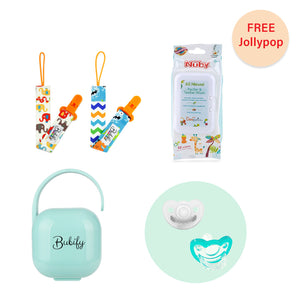 Essential Baby Bundle Teal