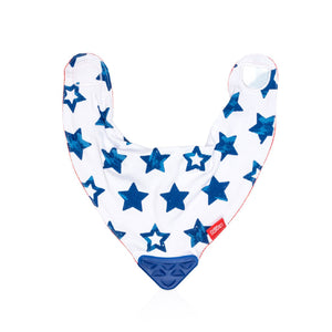 Nuby Bandana Bib Teether - Boy