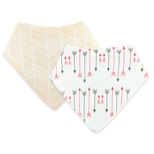 Bandana Bibs 2 Pack - Arrows