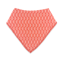 Load image into Gallery viewer, Bandana Bibs 2 Pack - Red Bandanas