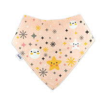 Load image into Gallery viewer, Bandana Bibs 4 Pack - Stars