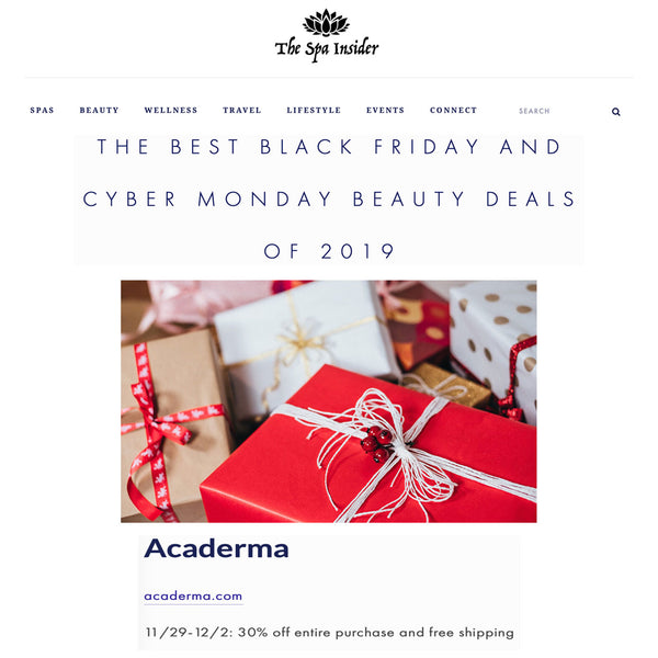 The Spa Insider: The Best Black Friday and Cyber Monday Beauty Deals