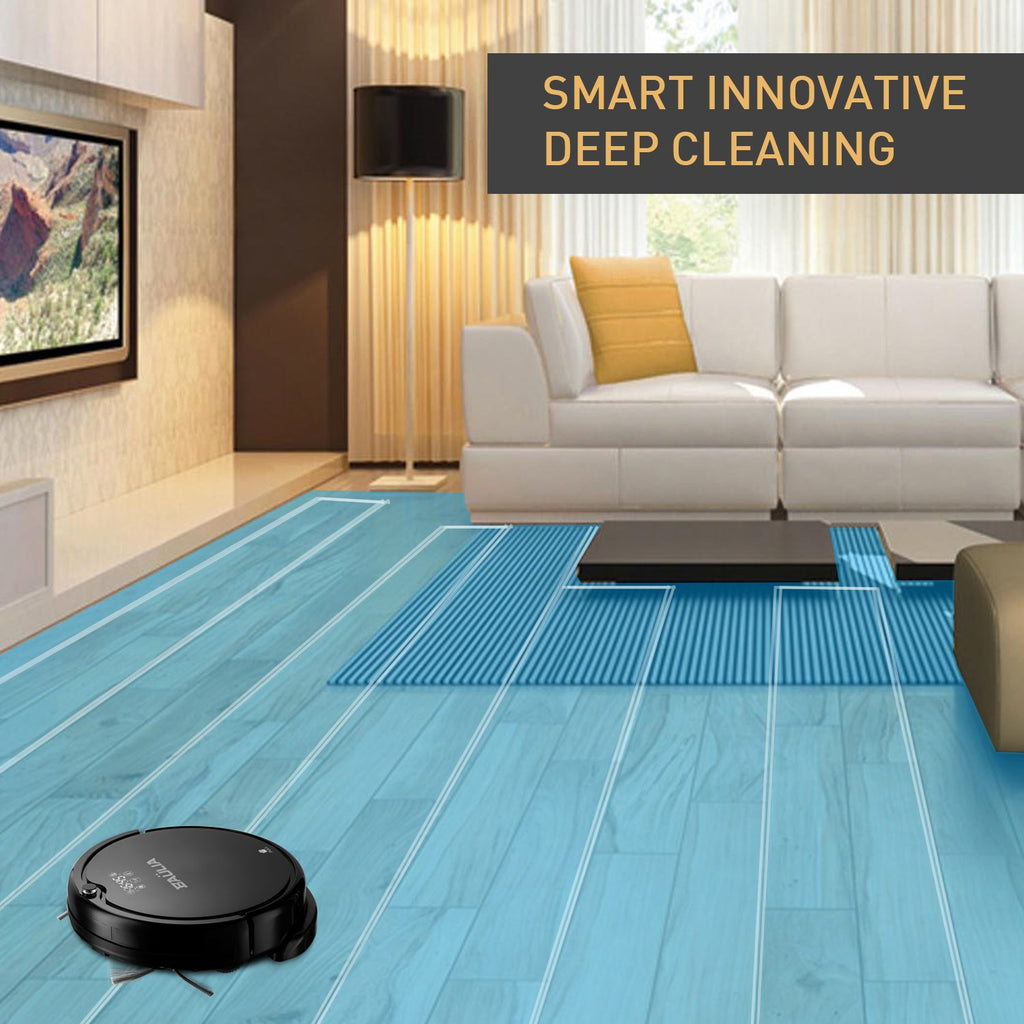 Baulia RVC813 Automatic robot vacuum cleaner - Self Charging - Smart Route Planning - Mop, Wet & dry Function