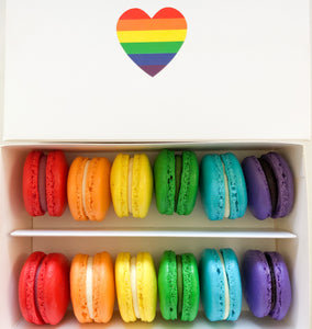 Pride Month Macarons