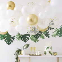 Load image into Gallery viewer, Gold Chrome Balloon Arch