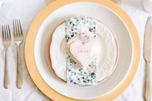 Load image into Gallery viewer, Bridesmaid Heart Shaped Sugar Cookies Customized For Your Bridal Party (1 dozen)