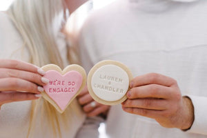Engagement Sugar Cookies (1 dozen)