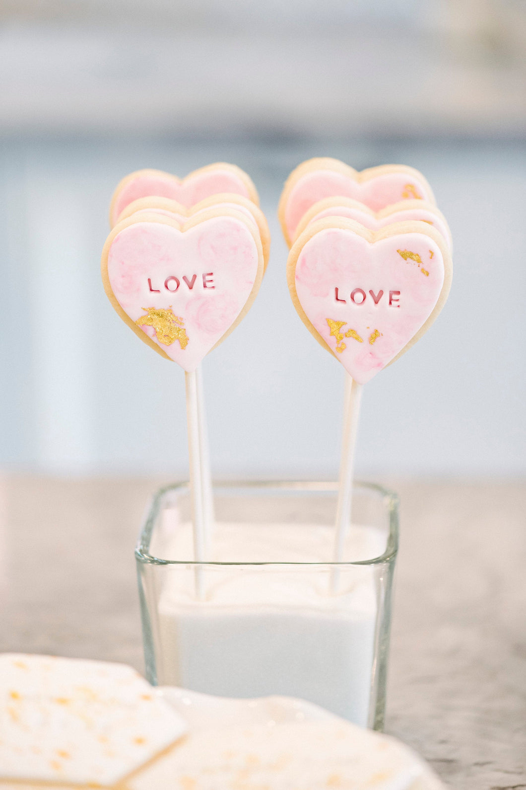 Love Pop Sugar Cookies (1 dozen)