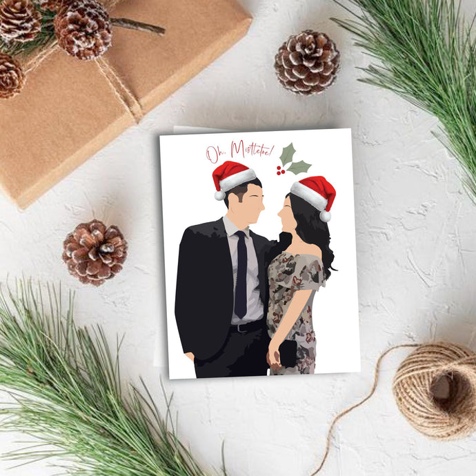 Custom Holiday Card - Two or more people