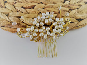 Aster hair comb