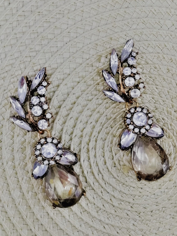Vintage bronze earrings