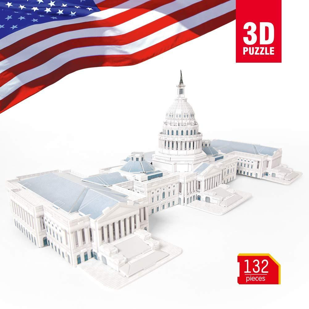 World's Great Architectures  United States Capitol 3D Puzzle