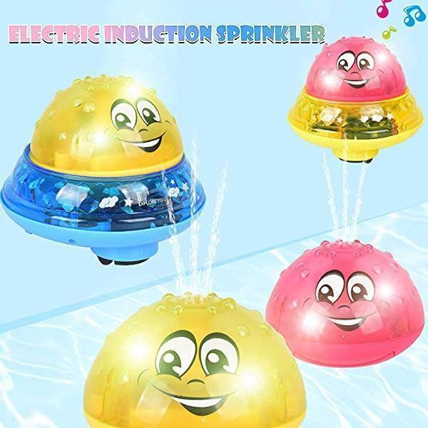 INFANT CHILDREN'S ELECTRIC INDUCTION WATER SPRAY TOY