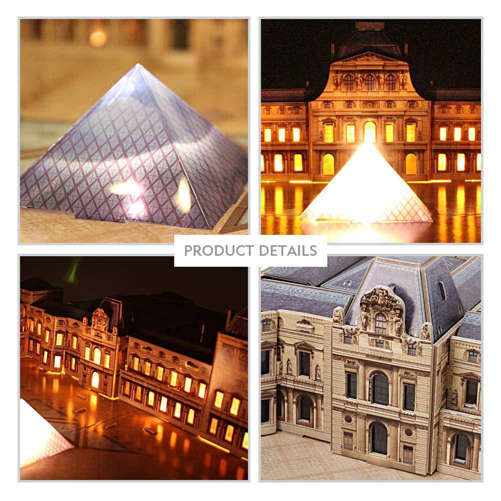 3D Model Kits-The Louvre Paris France
