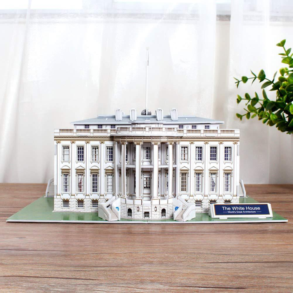 World's Great Architectures  White House 3D Puzzle