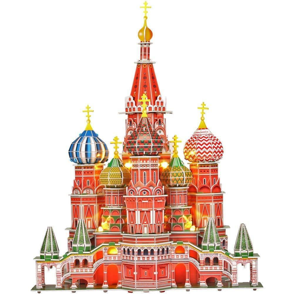 3D Model Kits -Russia Saint Basil's Cathedral