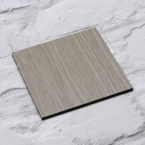 Light Grey Oak Acrylic House Sign Sample