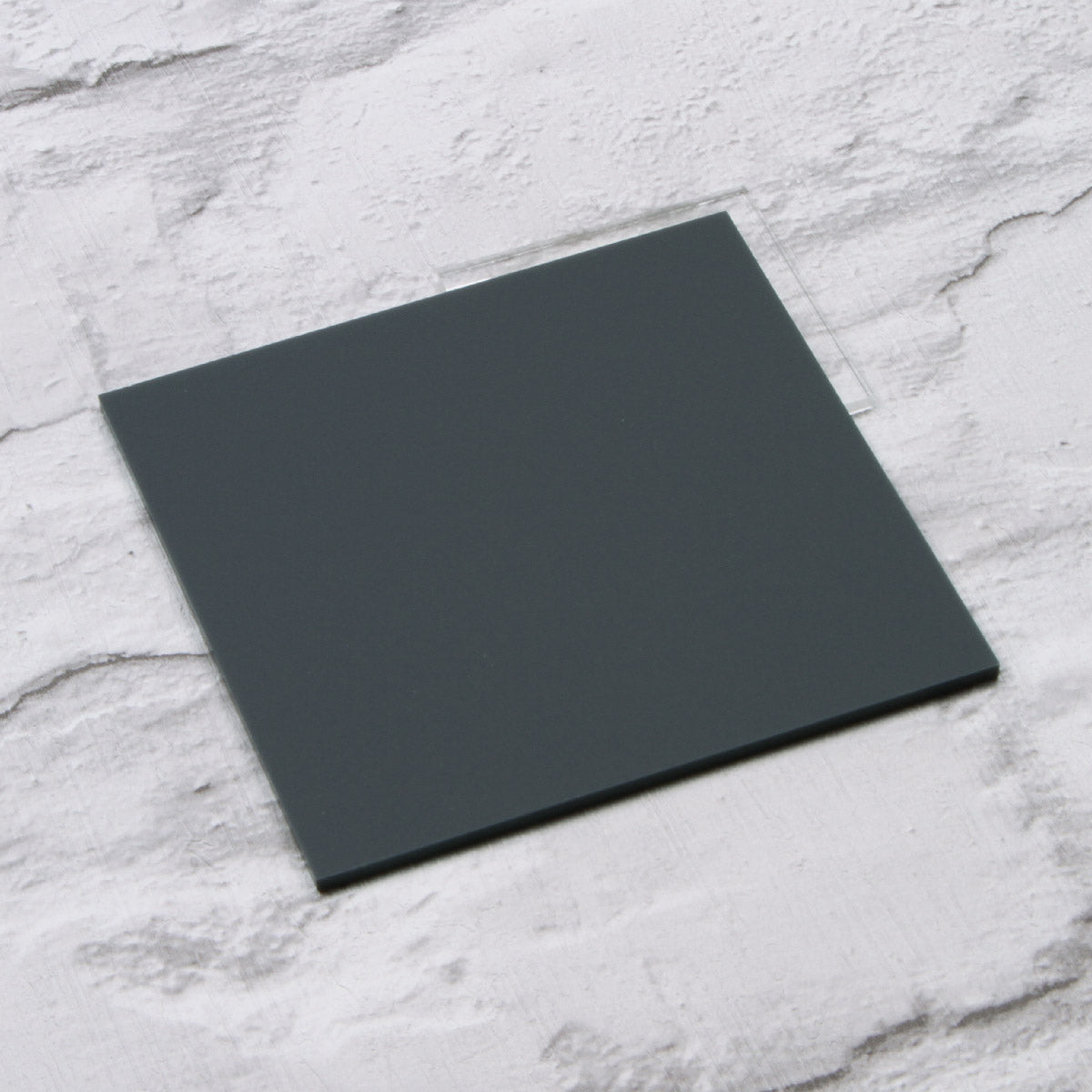 Matt Dark Grey Acrylic House Sign Sample