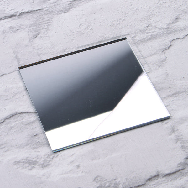 Silver Mirror Acrylic House Sign