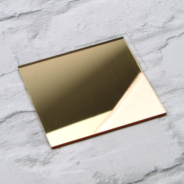 Gold Mirror Acrylic House Sign Sample