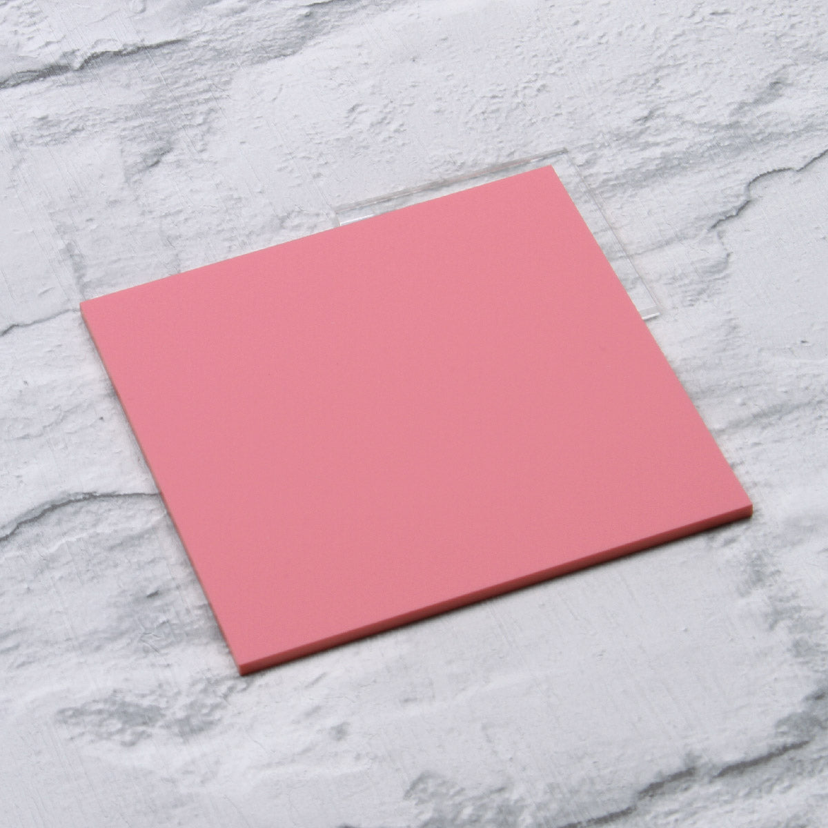 Pastel Pink Acrylic House Sign Sample
