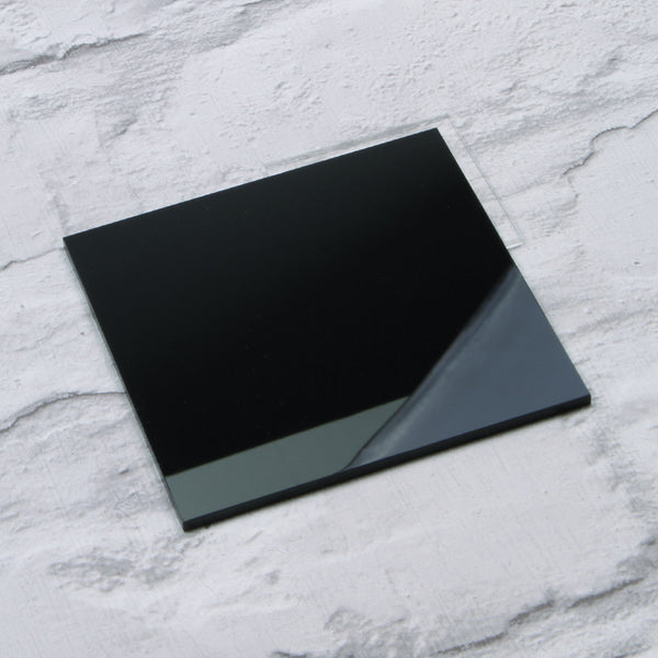 Black Gloss Acrylic House Sign Sample