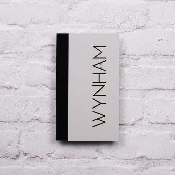 Matt Light Grey & Black Modern Portrait Offset House Sign