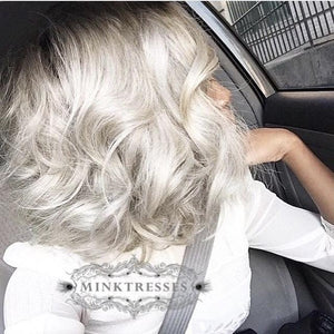 Silver Foxx Grey Lace Frontal