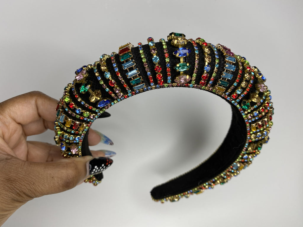 Victorian Jeweled Headband III