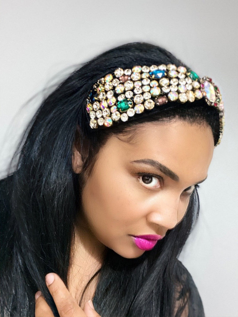 Royal Ruby Jeweled Headband