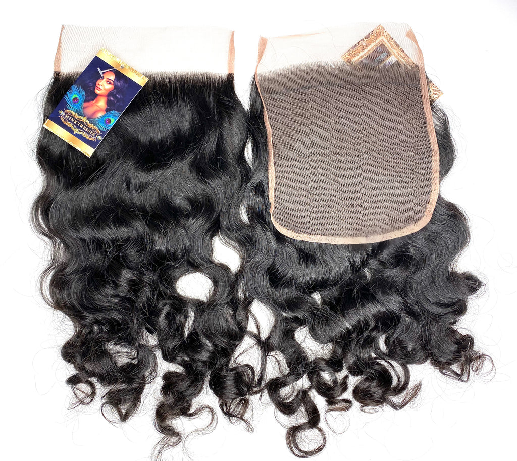Signature Deep Wavy/Curly Lace Closure