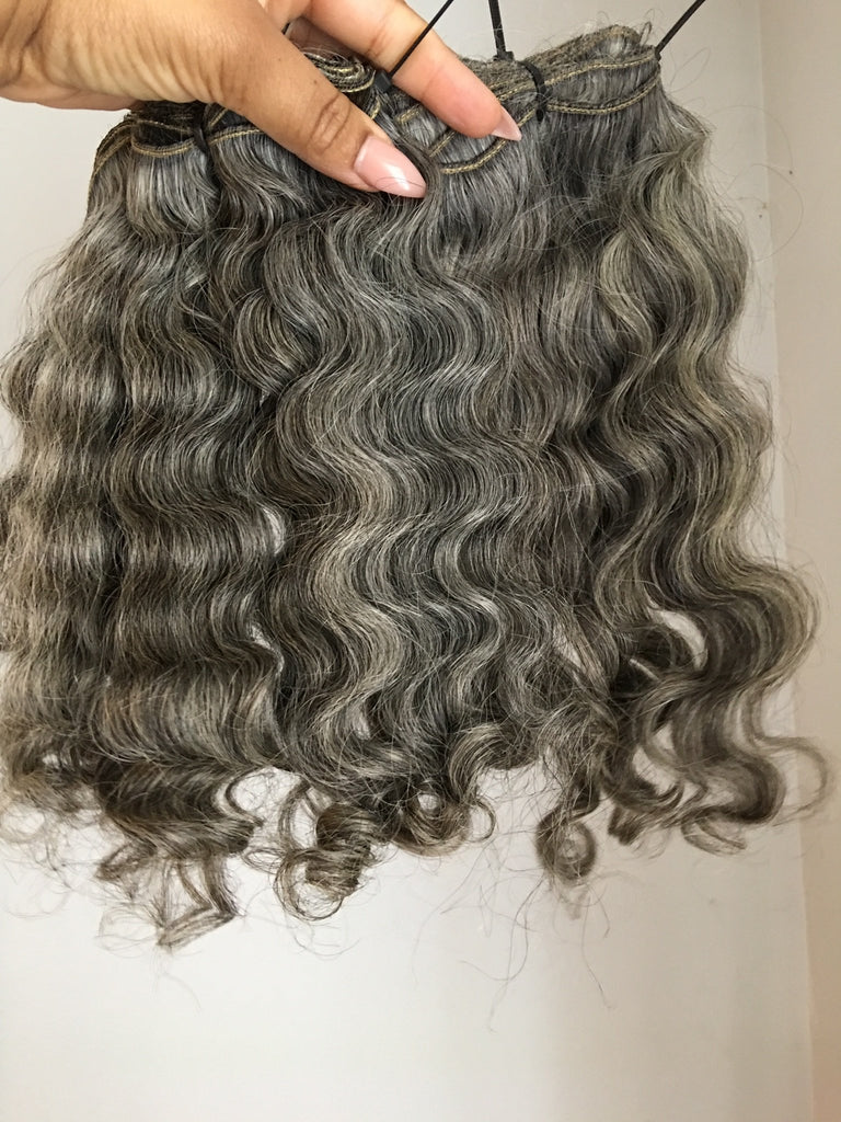 Rihanna Grey Closure