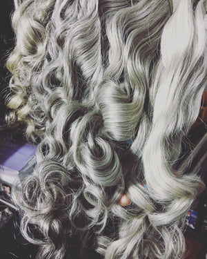 Silver Foxx Grey Closure