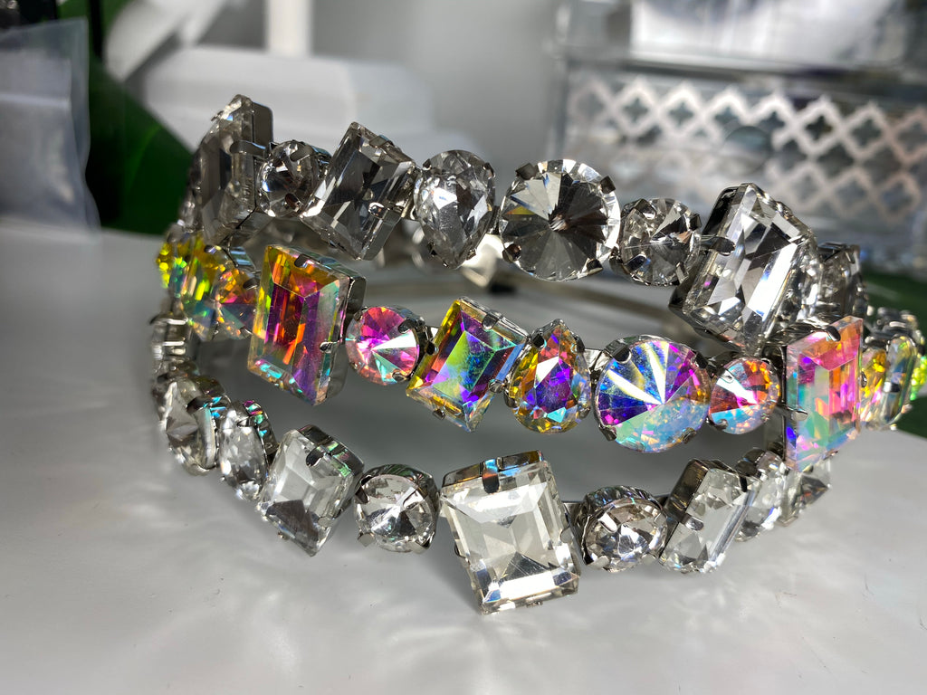 Crystal Geometric Headband