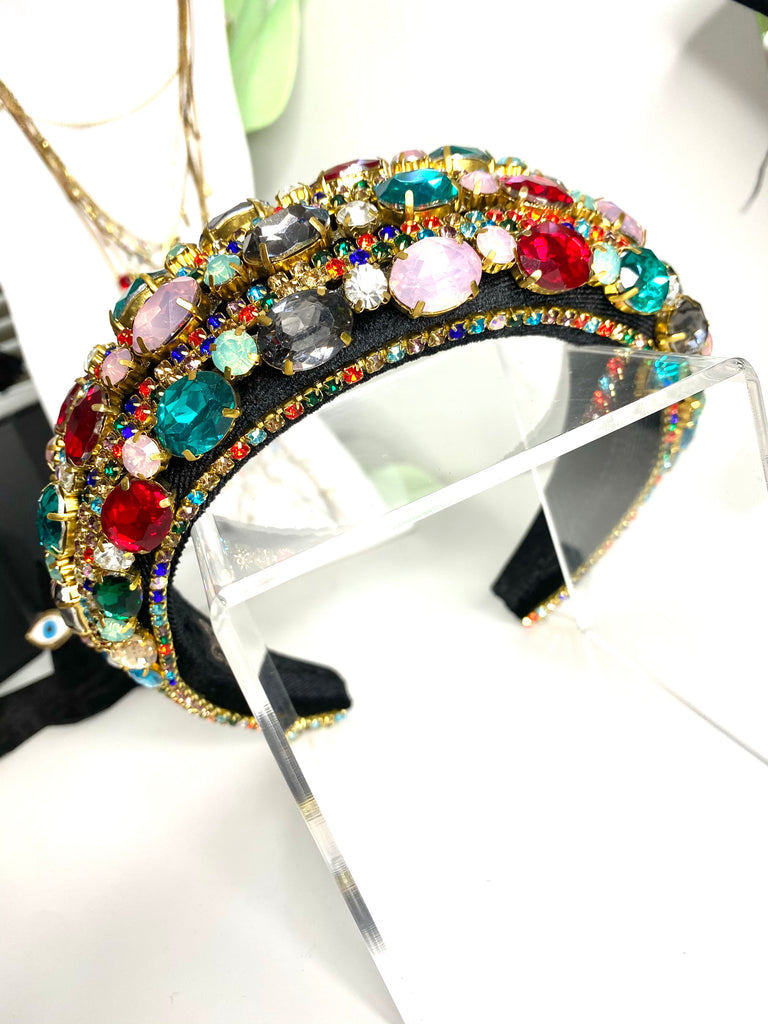 Supreme  Multi Jeweled Headband