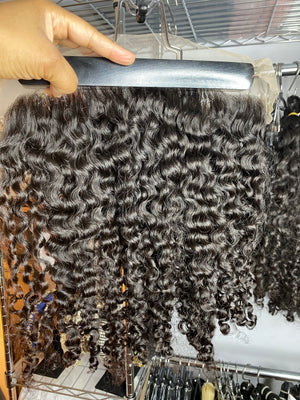 "20"" 13""x4"" Tuareg Curly Lace Frontal"