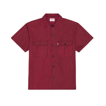 Overdyed Hickory S/S Work Shirt