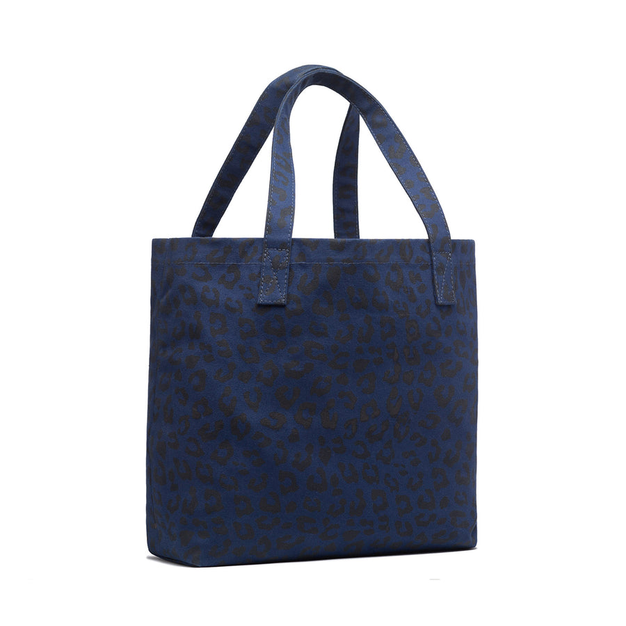Leopard Canvas Work Bag