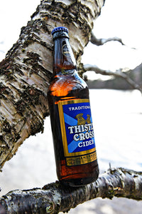 Thistly Cross Traditional Cider. 4.4%, 12x330ml bottles.