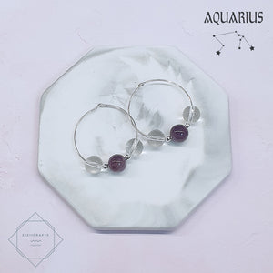 Horoscope - Aquarius Earrings