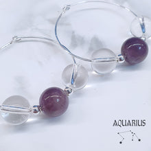 Load image into Gallery viewer, Horoscope - Aquarius Earrings